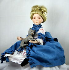 """Arianna and Her Cat, 14"""" Doll by Robert Tonner, UFDC 50th Anniversary 1999 COA"""