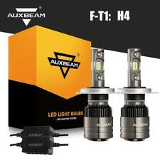 New listing Auxbeam H4 Hb2 9003 Led Headlight Kit Hi/Lo Beam Bulbs 6500K 8000Lm 70W + Canbus