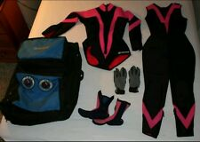 Fathom Women's SCUBA Diving Wetsuit, Boots, Gloves, and Carry Bag