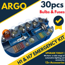 Emergency Car Bulb and Fuse Replacement Kit - H1 & H7 / 12 V