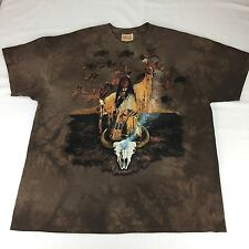 The Mountain Medicine Man T Shirt Native American Design by Craig Tennant XXL