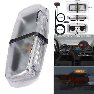 54 LED Car Roof Recovery Light  Amber Warning Strobe Flashing Beacon Magnetic