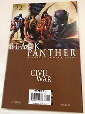 Black Panther 22 Civil War Tie In Near Mint Nm Vs Ironman