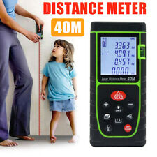 40m Handheld Digital Laser Point Distance Meter Measure Tape Range Finder#US