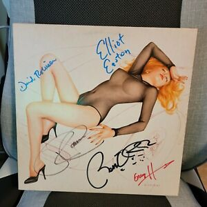 THE CARS signed lp vinyl album CANDY-O with Ben Orr Rick Ocasek