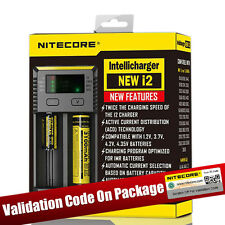 Nitecore Intellicharger i2 Battery Charger for 14500 18650 26650 Li-ion Ni-MH