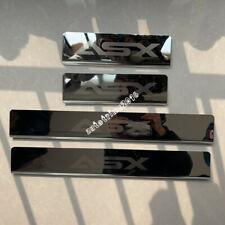 Chrome Car Door Sill Scuff Plate Guards Protectors For Mitsubishi ASX 2010-2020
