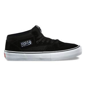 VANS Half Cab Pro - Mens Skate Shoes - Black / Black / White