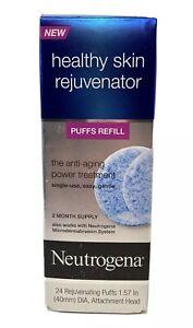 Neutrogena Healthy Skin Rejuvenator Puffs Refill 24 Count 1.57 In(40mm)