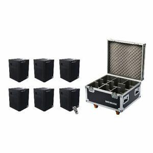 6x Sparkular Mini Package Cold Spark Fireworks Machine +BONUS POWDER and CASE