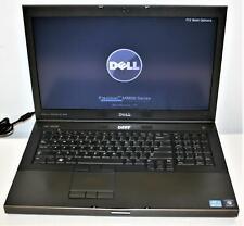 "17.3"" HD+ Dell Precision M6800 Intel i7 8GB 750GB AMD FirePro M6100 1600x900"