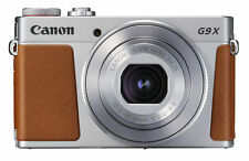 Canon PowerShot G9x Mark II Digital Camera Silver 20.1mp Full HD Video