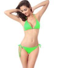 Abbigliamento verde fantasia nessuna fantasia in poliestere per il mare e la piscina da donna