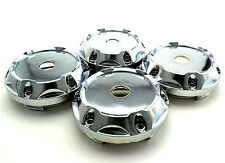 4x 64mm/ 56mm Chrome Wheel Center Hub Caps For Rim Centric Cover