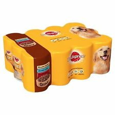 Pedigree Adult Wet Dog Food Selection in Gravy, 24 x 400g