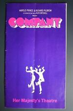 1970s Date Collectable Theatre Programmes (1950s)