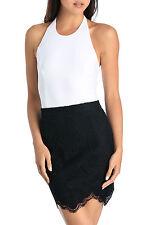Bardot Regular Size Halter Tops for Women