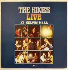 The Kinks Live At Kelvin Hall LP UK 2000 Sanctuary