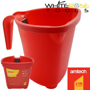 Amtech Paint Kettle Pot with Magnetic Brush Holder Painting Decorating Bucket
