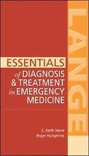 Essentials of Diagnosis & Treatment in Emergency Medicine (LANGE Essentials), St