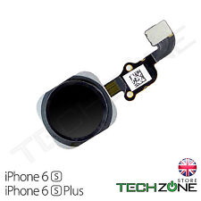 "For iPhone 6S Plus 5.5"" Home Button Black Flex Cable Main Menu Button Black"