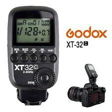Godox XT32C 2.4G Wireless 1/8000s HSS Flash Trigger Transmitter for Canon Camera