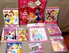 Disney Princesses Lot of 10 Pieces Including Christmas Bag BNIP Sealed