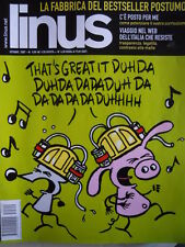 LINUS - Rivista fumetti n°10 2007 [G265]