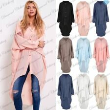 Collar Long Sleeve Dresses for Women with Buttons