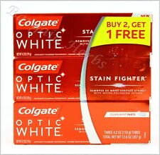3x Colgate Toothpaste 4.2 oz New Free Shipping (Total 12.6oz)