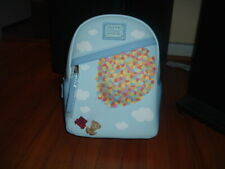 LOUNGEFLY PIXAR UP CHAIRS AND BALLOONS MINI BACKPACK~ WITH TAGS~BRAND NEW~