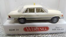 Wiking  014924 TAXI MB 300 SD 1:87 H0 NEU in OVP