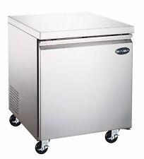 SABA Heavy Duty Commercial One Door Under-Counter Freezer