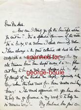 JULIA DENT GRANT - LETTER - AUTOGRAPH - 1920 - ULYSSES S. GRANT - RUSSIA