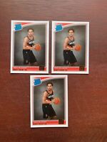 (3) 2018-19 Donruss Rated Rookie Gary Trent Jr. #199 Portland Trail Blazers HOT