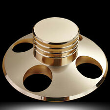 One Piece Record Weight LP Disc Stabilizer Turntable Clamp HiFi Audio Grade