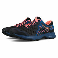 Asics Womens Gel-Sonoma 4 Trail Running Shoes Trainers - Black Blue Sports