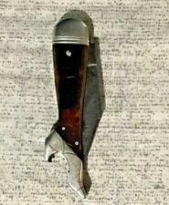 Vintage REMINGTON UMC Lady's Leg 2 Blade Folding Knife & Bottle Opener