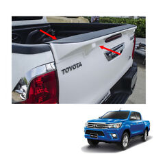 Tailgate Cap Duck Tail Spoiler Painted 1Pc For Toyota Hilux Revo SR5 2015 - 2017