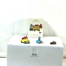 1989 HALLMARK MINI FIR TRUCK & 2008 LUIGI & GUIDO RACE FANS! / PIXAR'S ~CARS~