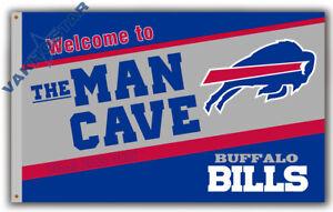 Buffalo Bills Men Cave football team Memorable flag 90x150cm 3x5ft best banner