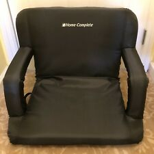 New Home Complete Padded Seat Cushion Stadium Bench Portable Chair