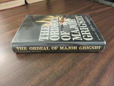 The Ordeal of Major Grigsby John Sherlock SIGNED HC 1964 1st Edition FREE SHIP