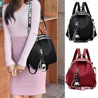 Fashion Women Lady Backpack Leather Girls School Travel Handbag Shoulder Bag New