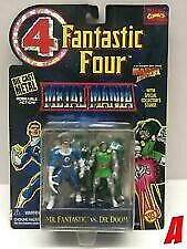 Fantastic Four Metal Mania Mr. Fantastic vs Dr. Doom #A Die-Cast Figures NEW