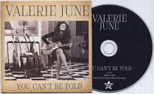 VALERIE JUNE You Can't Be Told UK 1-trk promo CD The Black Keys