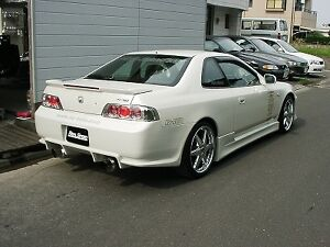 TeamJetspeed Made Fiberglass FOR Honda Prelude 1997-01 R-Speed Style SideSkirt