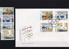 Portugal 1884 - 87  ** / FDC - Olympiade - Bacelona 92 ( 22512-o1 )