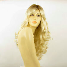 Perruque femme mi-longue méchée blond racine blond foncé ZARA YS
