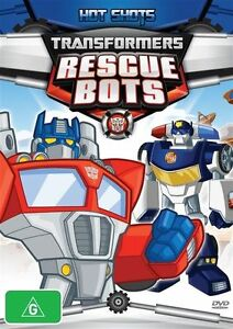 Transformers Rescue Bots - Hot Shots (DVD, 2013)--FREE POSTAGE